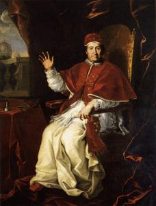 Expedida a Bula Aurea in supremo apostolatus solio por Clemente XI