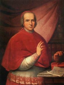 Nascimento de Tomás de Almeida, futuro primeiro patriarca de Lisboa, figura importante na corte de D. João V.