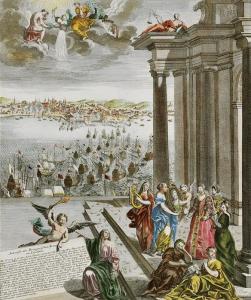 Desembarca em Lisboa a Rainha D. Maria Ana