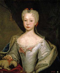 Nascimento da princesa Maria Bárbara filha do rei D. João V, e de sua mulher, a rainha D. Maria Ana de Áustria
