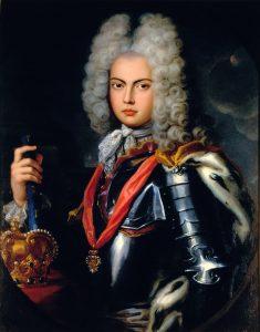 Aclamação solene de D. João V, como rei de Portugal e Algarves